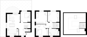 Rzut pomieszczeń A1 Osiedle Solaris (domy)