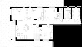 Rzut pomieszczeń 32 Apartamenty Saskalia