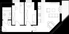 Rzut pomieszczeń M12y Własne Miejsce