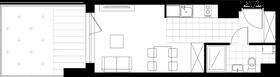 Rzut pomieszczeń U03 Metro Park – apartamenty inwestycyjne