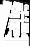Rzut pomieszczeń 3B/2 Aura Home
