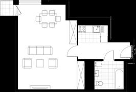 Rzut pomieszczeń i-82a-3d Słoneczny Zakątek