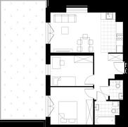 Rzut pomieszczeń A02 Apartamenty Przy Agorze 6