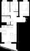 Rzut pomieszczeń C_1 Osiedle KRK II