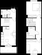 Rzut pomieszczeń ul. Klonowica 28/37 Apartamenty Nowa Bonarka