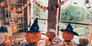 Halloween – pomysły na dekoracje domu
