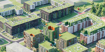 Nowość! Smart Makieta 3D on-line: Mieszkaj w Mieście, Henniger Investment