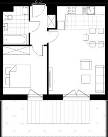 Wizualizacja Partynice House 2