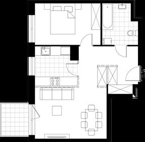 Wizualizacja Mieszkaj w Mieście – etap Reżyserów (bud. J)