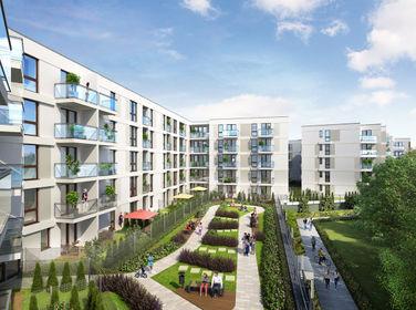 Wizualizacja Aura 40 – apartamenty inwestycyjne