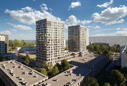 visualization Sokolska 30 Towers