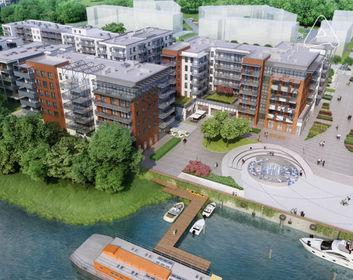 Wizualizacja Olimpia Port