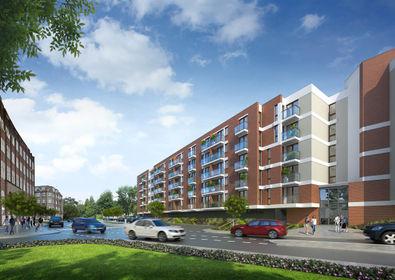 visualization Aura 40 – apartamenty inwestycyjne