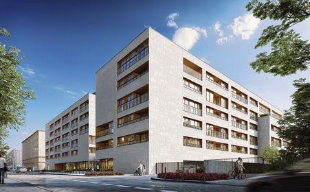 Wizualizacja Apartamenty Niemcewicza 19