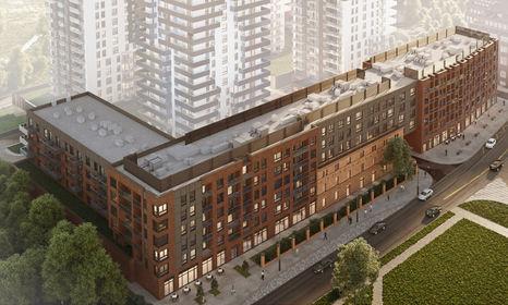 Wizualizacja Bastion Wałowa –  apartamenty inwestycyjne