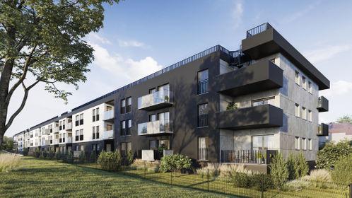 Wizualizacja Apartamenty Wybickiego