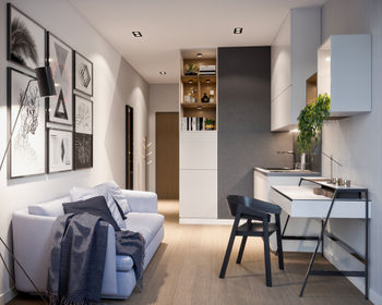 visualization Modern Space – apartamenty inwestycyjne