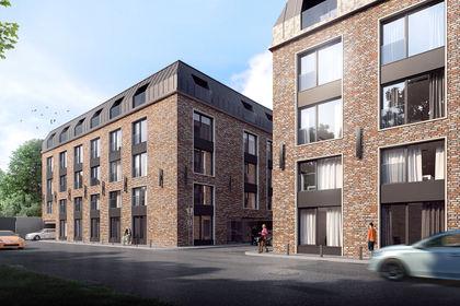 Wizualizacja Iron Street – apartamenty inwestycyjne