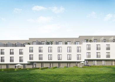 Wizaulizacja inwestycji Apartamenty Nowa Bonarka