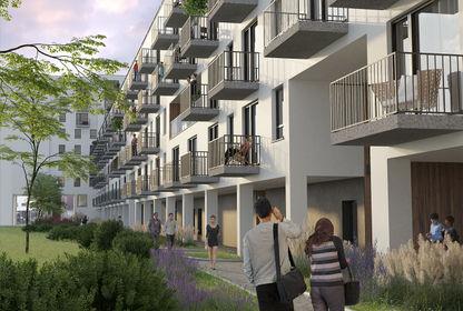 Wizualizacja Apartamenty Nowy Tarchomin