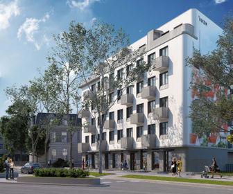 Wizualizacja Gdańska 1 – mieszkania inwestycyjne