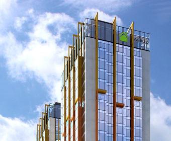 visualization Towarowa Towers