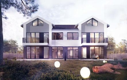 Wizualizacja Batorego House (domy)