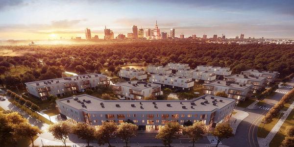 RONSON Development z pozwoleniem na użytkowanie dla II etapu domów Novej Królikarni
