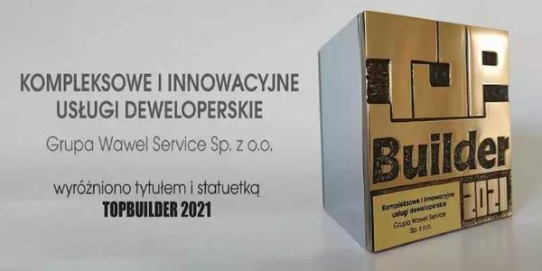 Grupa Wawel Service  z wyróżnieniem TopBuilder 2021