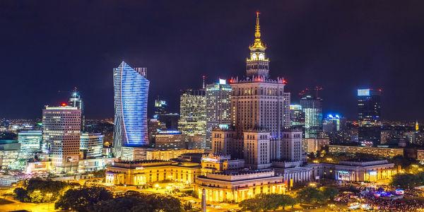 Jak luksus, to tylko w Warszawie!