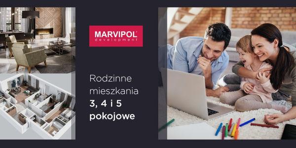 Rodzinne mieszkania od dewelopera Marvipol Development