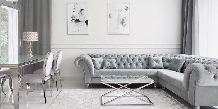 Mieszkanie w stylu glamour – najmodniejsze aranżacje